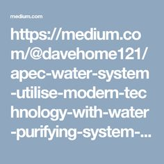 Now mostly everywhere it is difficult to find pure and contaminants free water. This contaminated water is harmful to us as there are so many dirt and toxins in it. APEC is America based company that manufactures the best and eco-friendly purifiers for small homes, large homes, commercial places and other places. APEC water systems use Reverse osmosis technology that is most commonly known as RO. This technology is used to destroy 90–99% of contaminants from the water.