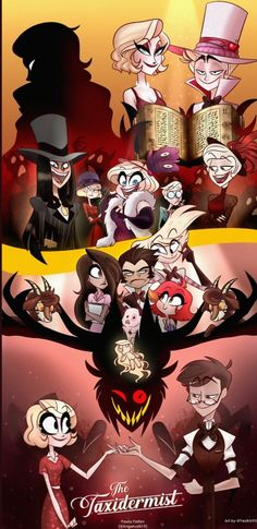 Hazbin Hotel is a comedy/musical adult animated series created by Vivienne Medrano. Art Sketches, Art Drawings, Twitter Cover Photo, Character Art, Character Design, Monster Hotel, H Hotel, Hazbin Hotel Husk, Hazbin Hotel Angel Dust