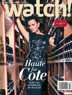 First Look: October Cover   ­­­Check out the cover featuring NCIS Cote de Pablo for CBS! Watch Magazine.