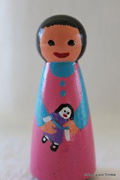 peg doll girl