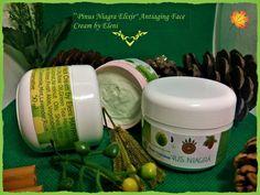 PINUS NIAGRA ELIXIR Antiaging Face & Neck Cream by Elen | Etsy Green Tea Oil, Soap Melt And Pour, Mint Oil, Cream Baths, Chamomile Oil, Neck Cream, Luxury Soap, Rose Essential Oil, Herbal Oil