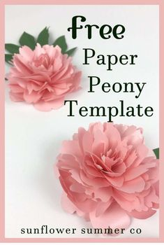 Paper Flowers Discover Paper Peony Tutorial A paper peony tutorial that will have you making paper peonies in no time! Each petal is different making this peony look realistic. Paper Flower Wreaths, How To Make Paper Flowers, Large Paper Flowers, Tissue Paper Flowers, Paper Flower Wall, Paper Flower Backdrop, Flower Crafts, Rolled Paper Flowers, Paper Garlands