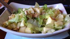 HCG phase 1 : Fuji apple chicken salad.