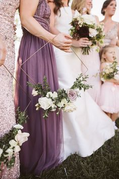 Geometric Floral Hoop Bouquet Geometric Hoop Bouquet and Hexagonal Arch for an Outdoor Ceremony and Glasshouse Wedding Reception in Colorado by Ali V Weddings Lavender Wedding Colors, Lavender Bridesmaid, Purple Wedding Cakes, Purple Wedding Flowers, Bridesmaid Flowers, Bridal Flowers, Flower Bouquet Wedding, Lavender Weddings, Purple Bouquets