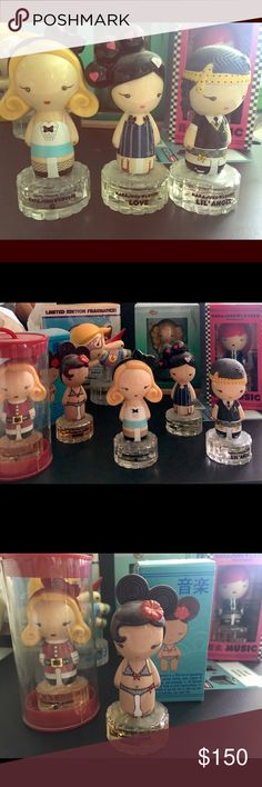 Set of 8 hara juko perfume Adorable hara juko collection of 8 fragrances Hara Juko  Other
