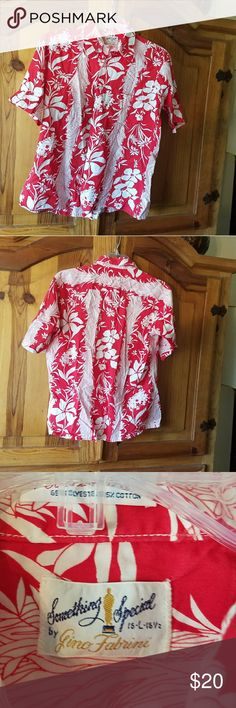 Vintage Hawaiian Shirt Vintage Hawaiian Shirt in excellent condition Shirts Casual Button Down Shirts