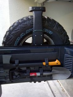 Quick Fist -- Cool mounting option for any vehicle really.