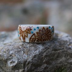 Handmade jewelry made from naturally shed deer antlers. Baby Jewelry, Handmade Jewelry, Tiffany Band, Deer Antler Ring, Enchanted Disney Fine Jewelry, Sunflower Ring, Evil Eye Jewelry, Bone Carving, Pretty Rings