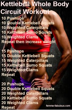Kettlebell Whole Body Circuit Learn how to lose weight and gain fat burning muscle. You have nothing to lose, and everything to gain.