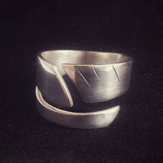 Open Ring, Spiral, Cuff Bracelets, Online Shopping, Feather, Rings For Men, Etsy, Sterling Silver, Jewelry