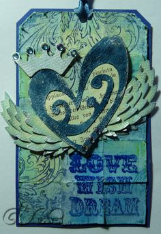 cbee's cards and more: Love x Wish x Dream