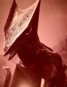 Gyaos from Gamera vs Gyaos (1967) Saturday mornings were so much fun...I loved watching these movies