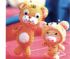 Japanese Amigurumi Gingerbread Family and Friends by LuckyKorat, $2.49