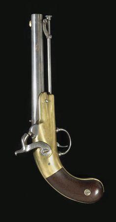 A scarce Confederate J.& F. Garret single shot percussion pistol, ca 1860's, U.S.A.../ qw