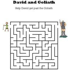 David and Goliath Maze.