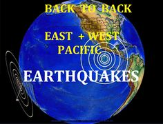 4/28/2016 -- Two large M7.0 + M6.9 (m6.6) Earthquakes strike the West + ...
