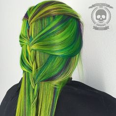 Radioactive Greens | 21 Bold AF Hair Colors To Try In 2016