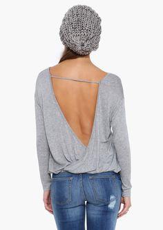 Allie Shirt in Heather grey