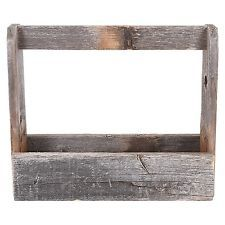 Old Multifunctional Wooden Box Rustic Tool Box Wood Home Décor Accessories