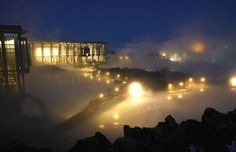 The Blue Lagoon Geothermal Spa,Reykjavik, one of Iceland's most visited sites with more than 400,000 visitors annually | Iceland