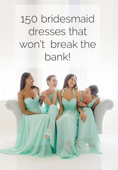 Dont go broke for the big day. Find the perfect bridesmaid dress that wont break the bank! bridesmaid dress, bridesmaid dresses I like the color of these ones Bridesmaids And Groomsmen, Wedding Bridesmaid Dresses, Wedding Attire, Wedding Gowns, Sequin Bridesmaid, Bridesmaid Ideas, Allure Bridesmaid, Bridesmaid Color, Bridesmaid Jewelry