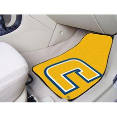 Tennessee Chattanooga Mocs NCAA Car Floor Mats (2 Front) Each Fan Mats product is produced in a 250,000 sq. ft. state-of-the art manufacturing facility. Only the highest quality, high luster yarn with