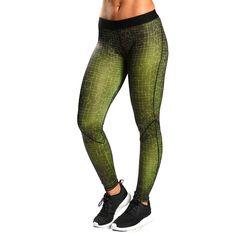 GymShark Women's Ambition Leggings - Chartreuse | GymShark International | Be a visionary.