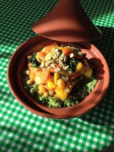 Tallore: Groentetajine met couscous van broccoli