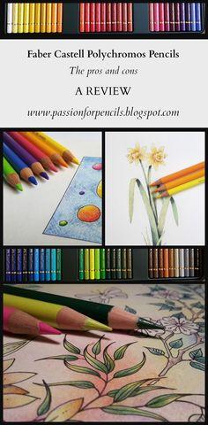 Passion for Pencils: Review Faber Castell Polychromos Pencils