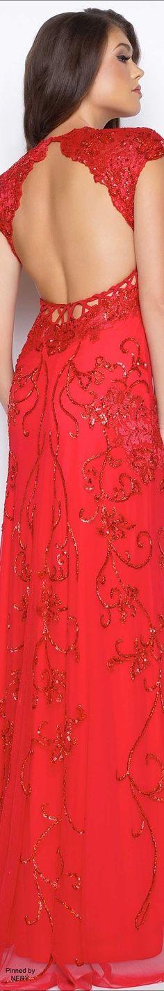 Mac Duggal Prom Dress 2017-Red