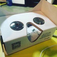 An awesome Virtual Reality pic! Today we built an #interactive #vr experience of our office using #googlecardboard and #googlestreetview! #Experiential #marketing #la #dtla #eventprofs #virtualreality by becore check us out: http://bit.ly/1KyLetq