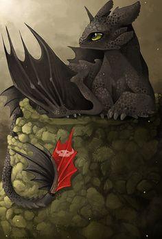 Alpha Toothless by McLaren-Spyder.deviantart.com on @deviantART