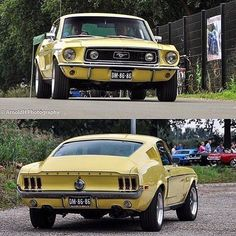 Classic Ford Mustang #mustangclassiccars