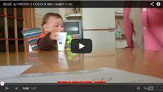 Vídeo Bebé A Partir O Coco A Rir / The Laughing Baby Video   Rir até Cair