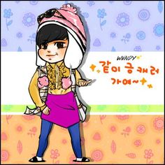 """[FANART] """"This is INFINITE"""" with Myungsoo by Wendy♥ pic.twitter.com/zbe45wJX8M"""