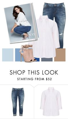 """To Sexy"" by hope-houston ❤ liked on Polyvore featuring Silver Jeans Co., Eterna, Ashley Graham and Paul Frank"