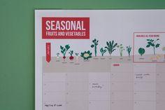 A1 Seasonal Veg year planner #seasonalveg #calendar2015