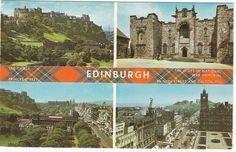 postcards of edinburgh - Google Search