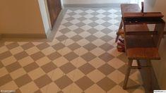målat trägolv,rutigt golv