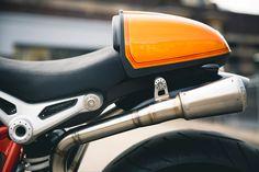 bike biz bmw rninet cafe racer r90 bmw motorrad orange
