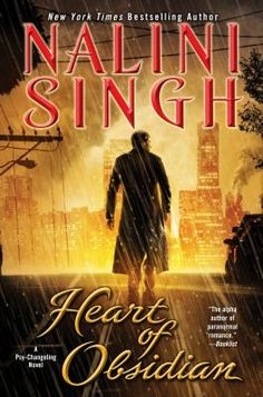 Heart of Obsidian by Nalini Singh I love this story of Kaleb Krychek. This shows that love could be dangerous and at the same time can be something tht could save you. Another thumbs up for @Nalini Singh ..!