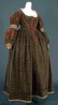 Dress under Louis XIII era, reproduction 17th Century Clothing, 17th Century Fashion, Baroque Fashion, European Fashion, Vintage Fashion, French Fashion, Mode Renaissance, Renaissance Fashion, Vintage Outfits