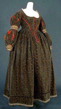 Dress under Louis XIII era, 1610-1660