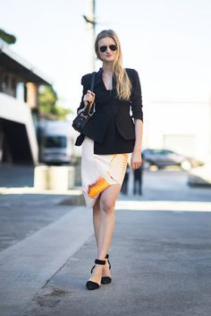 Sydney Fashion Week Street Style   Pictures