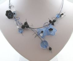 ensemble collier fleurs clochettes (#6B)