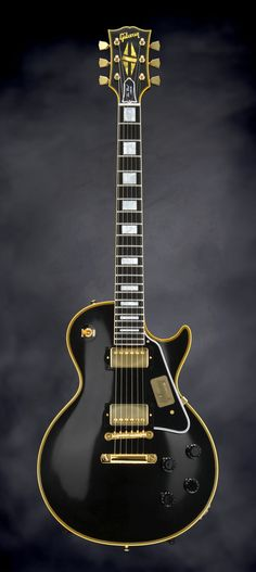 "2016 Gibson Custom True Historic 1957 Les Paul Custom ""Black Beauty"" - Vintage Ebony"