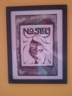 no sleep by monocore Polaroid Film, Sleep, Frame, Home Decor, Art, Art Background, Decoration Home, Frames, Kunst