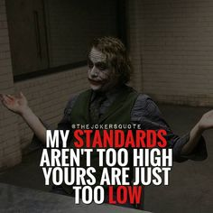 Wow I actually really love joker quotes Joker Qoutes, Joker Frases, Best Joker Quotes, Badass Quotes, Best Quotes, Dark Quotes, Strong Quotes, True Quotes, People Quotes