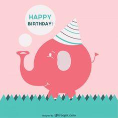 ┌iiiii┐                                                           Free birthday vector