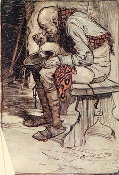 Arthur Rackham, Grimm's Fairy Tales